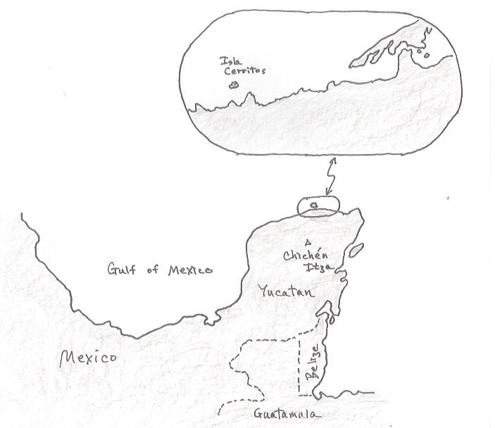 "Location of ""Collapse,"" the third book in The Crossover Series"